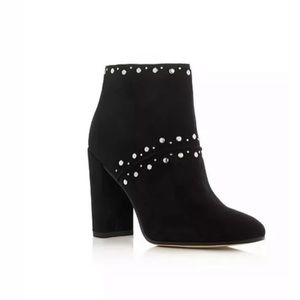 Sam Edelman Chandler Studded Ankle Boots Black Sz9